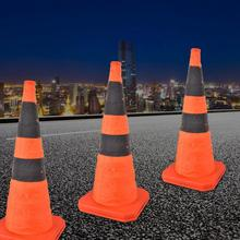 Road-Cones Safety with Reflective-Strip Collapsible Verkeersbord 70cm High-Quality