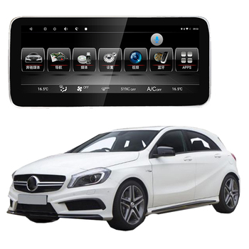 Car Multimedia Player GPS Audio Radio For Mercedes Benz MB A Class W176 A45 AMG 2013~2018 CarPlay 360 bird view camera NAVI image