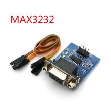 Max3232 rs232 ao conector max232 do módulo db9 do conversor da porta serial de ttl