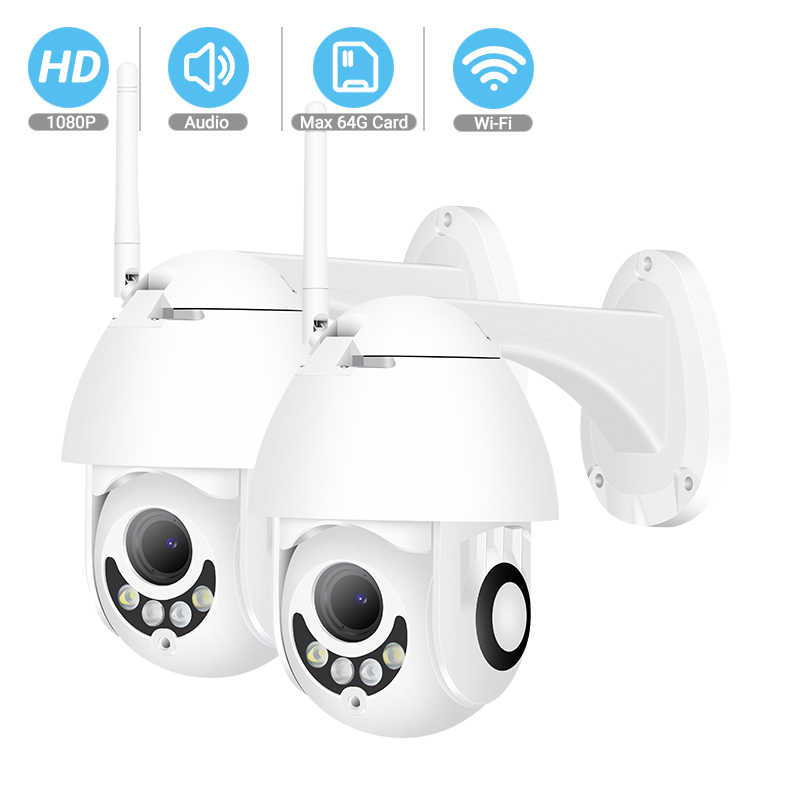 Besder 1080P Draadloze Hd Ip Camera 2MP Ptz Wifi Speed Dome Beveiligingscamera Twee-weg Audio Outdoor Camera onvif Cctv Surveillance