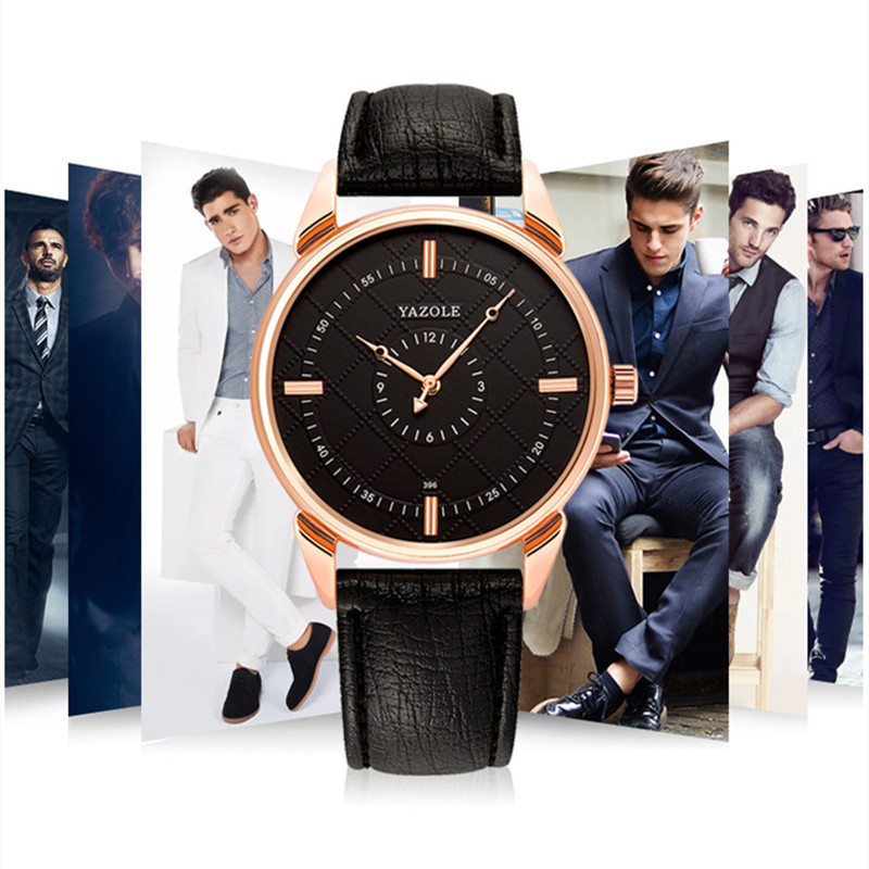 Luxurious Fashion Men Date Alloy Case Waterproof Leather Analog Quartz Sport Watch Mens Watches Top Brand Luxury Masculino Reloj