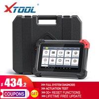 XTOOL EZ400PRO herramientas de diagnóstico de coche clave programador con todo System30 + servicios aceite restablecer EPB BMS SAS DPF ABS actualización gratuita