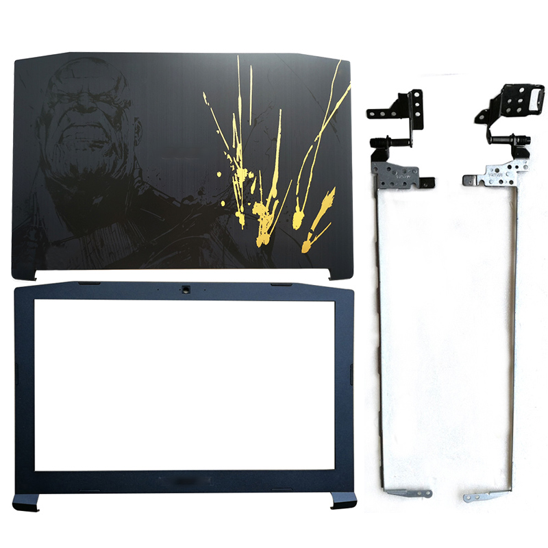 NEW Laptop LCD Back Cover/LCD Front Bezel/Hinges For Acer Nitro 5 AN515-42 AN515-41 AN515-51 AN515-53 AP211000720