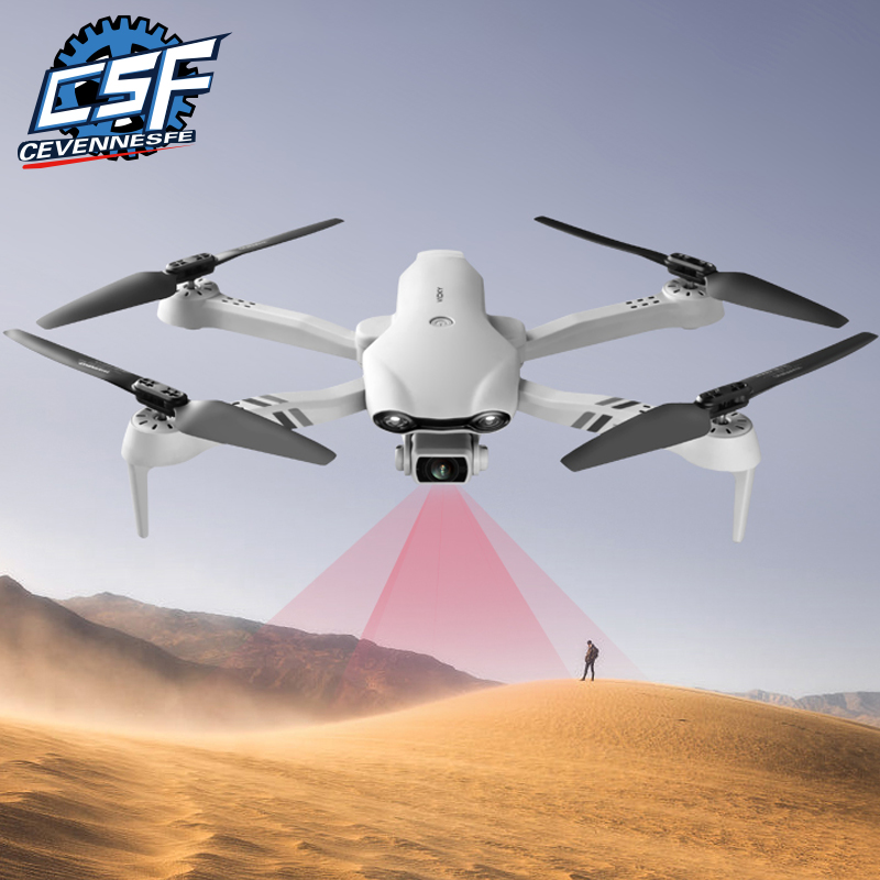 2021New F10 Drone 4K HD dual camera 5G GPS with WIFI wide angle FPV real-time transmission distance 2km Rc Foldable Toy VS906