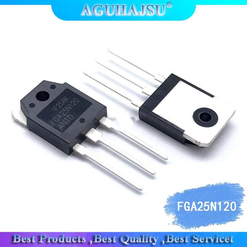 1pcs/lot FGA25N120ANTD FGA25N120 1200V 50A TO3P In Stock