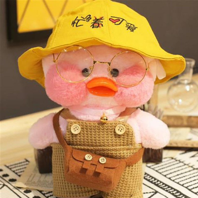 30 cm mini yellow duck plush toy for children kawaii soft plush toy for baby doll Christmas gift