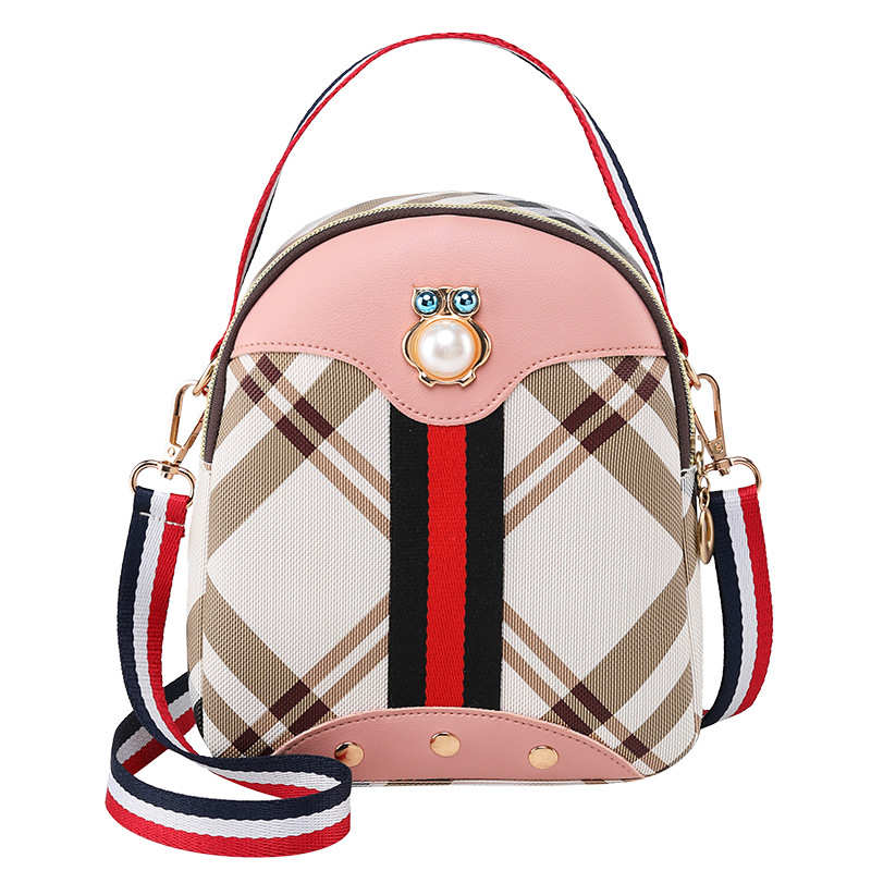 Vento Marea Mini Backpack Crossbody Bag For Teenage Girl 2020 Stripe Women Shoulder Phone Purse Korean Style New Convertible Bag