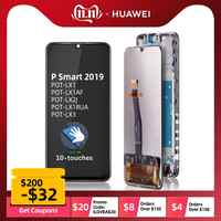 10-Touch Original affichage pour Huawei P Smart 2019 LCD affichage écran tactile numériseur P Smart 2019 LCD remplacer POT-LX1 L21 LX3