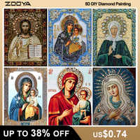 ZOOYA DIY 5D Religion Diamant Malerei Voll Platz Icons Diamant Stickerei Icons Volle Layout-Set Verkauf Diamant Mosaik Icons F708