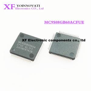 Image 1 - 50ピース/ロットMC9S08GB60ACFUE MC9S08GB60 QFP64 ic最高の品質。
