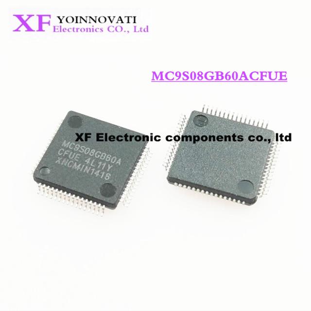 50ピース/ロットMC9S08GB60ACFUE MC9S08GB60 QFP64 ic最高の品質。