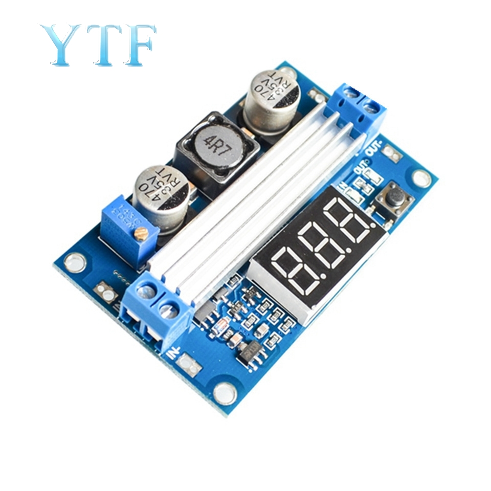 LTC1871 DC-DC Boost Power Module High Power 100W Adjustable Output 3.5~35V Digital Display For Ar Mega2560