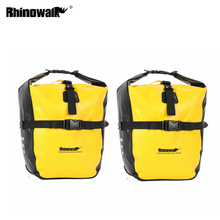 Pannier Bag Bike-Accessories Trunk-Pack Bicycle Front Waterproof Rhinowalk Rack MTB Portable