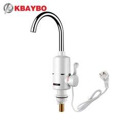 KBAYBO 3000 Вт водонагреватель кран для ванной комнаты кухонный кран водонагреватель кран одна секунда из горячей воды