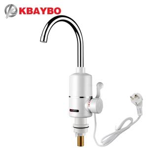 Image 1 - KBAYBO 3000W riscaldatore di acqua Bagno rubinetto Della Cucina rubinetto riscaldatore di acqua del Rubinetto rubinetto di Un secondo che è fuori di acqua calda
