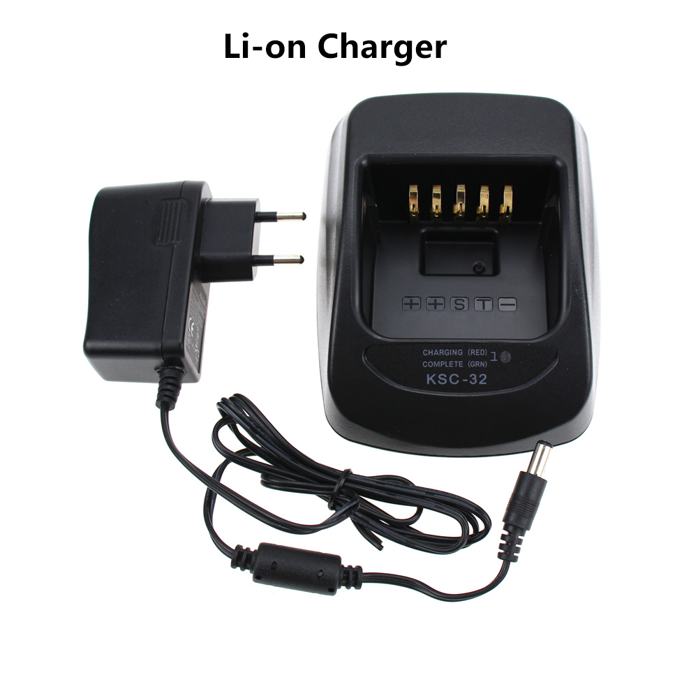 LI-ION Rapid Quick Charger KSC-32 For Kenwood Radio NX-410 NX-411 TK-2180 TK-3180 TK-5210 KNB-32N KNB-33 KNB-33L KNB-33Li