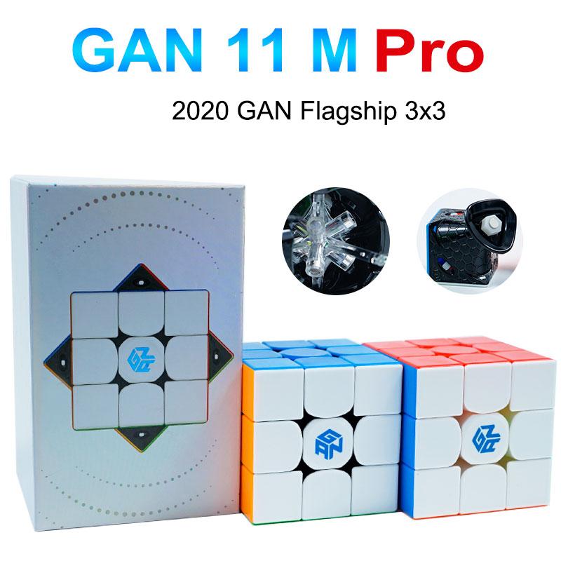 Puzzle Toys Gans Cube Magnets Pro-Cubes Educational GAN11M Magic-Speed 3x3