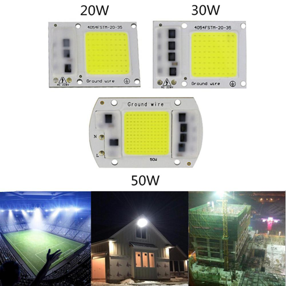 TWISTER.CK 15W/20W/30W/50W LED Drive-Free COB Chip Lamp 220V
