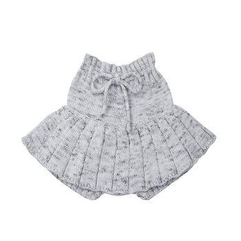 Baby Girl's Knitted Short Skirt 5