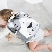 INS Hot Selling Zoo Toddler Kids Backpacks Cute Plush Little Girls Boys Animal Backpacks