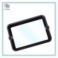High Quality Black 178*120*30mm Anodized Aluminium Resin Vat For For Wanhao D7 Photon FEP Film Steel Ring DLP SLA 3D Printer