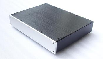Size:W320 H55 D246 All aluminum power amplifier/preamp/DAC decoding/headphone amplifier case BZ3205