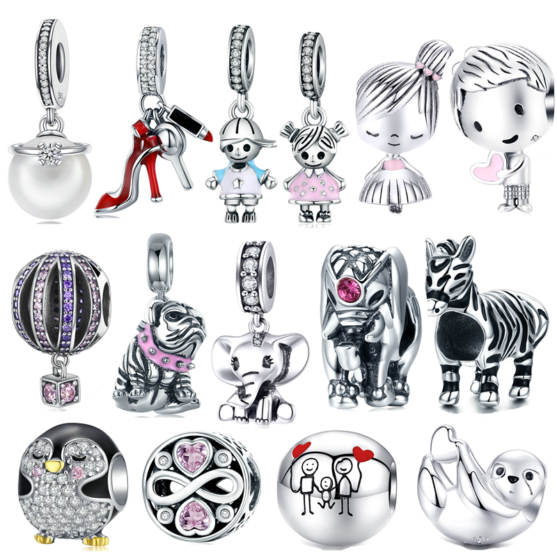 INBEAUT Pandora Bracelet Penguin Women Beads Charms-Fit 925-Sterling-Silver Lovely Cute