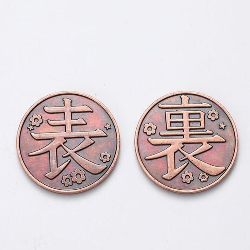 Косплей-реквизит медная монета из аниме «рассекающий демонов» киметасу no Yaiba