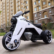 The New 3-wheel Electric Motorcycle Can Ride 3-8-year-old Baby's Toy Car Outdoor Game
