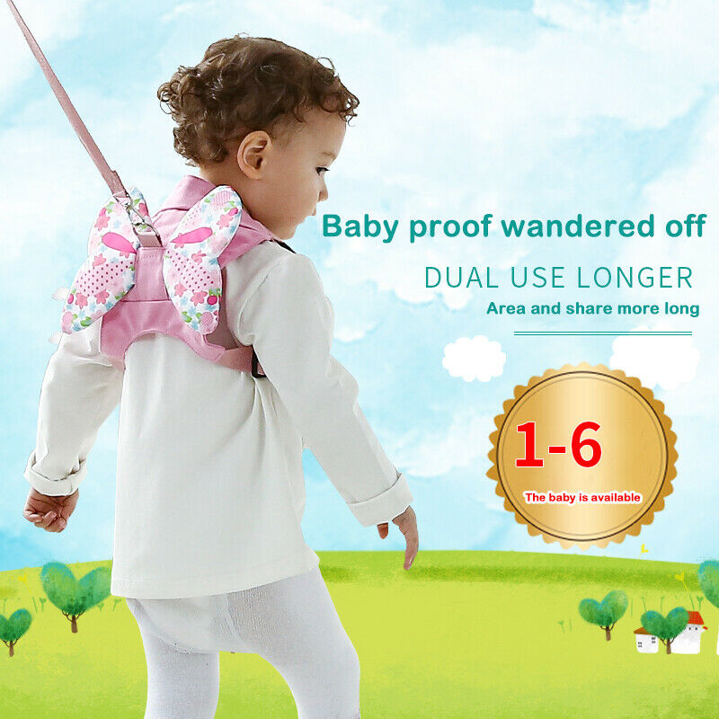 Toddler Walking Keeper Backpack Anti Lost Traction Belt 0-6Y Harness Baby Boy Girl Cute Safety Strap