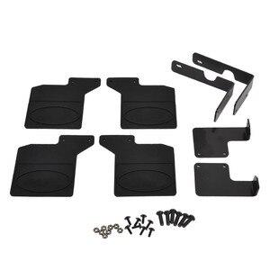 Image 2 - RC TRX4 RC Car Front Rear Mud Flaps Rubber Fender Mudguard for Traxxas Trx 4 trx4 Accessories