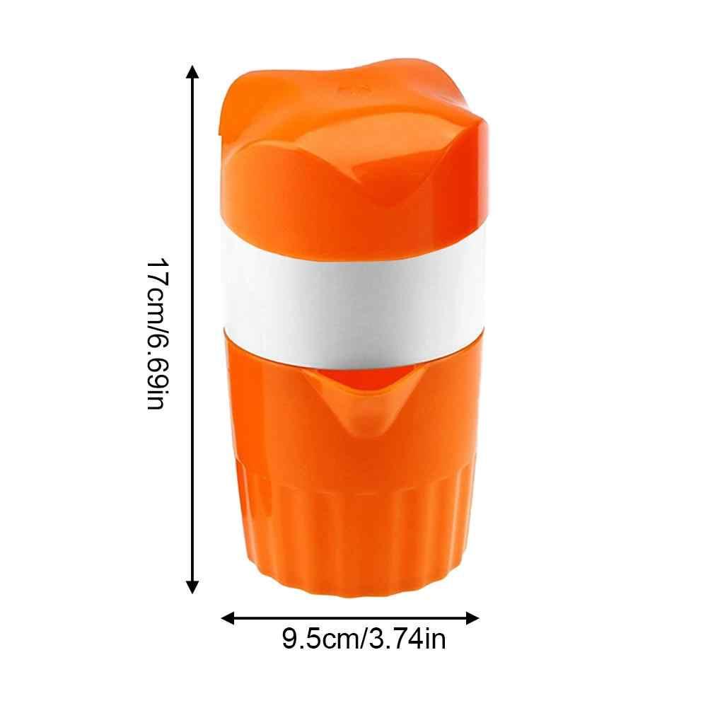 Portable Manual Citrus Juicer for Orange Lemon Fruit Squeezer 300ML Orange Juice Cup Child Healthy Life Potable Juicer Machine