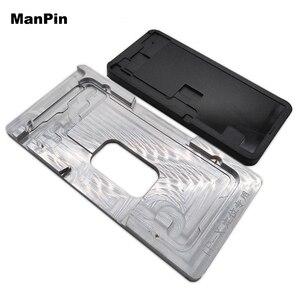Image 2 - Металлическая Форма для iPhone XS MAX XR, гибкая ламинирующая силиконовая прокладка для ЖК экрана без складок, инструменты для ремонта