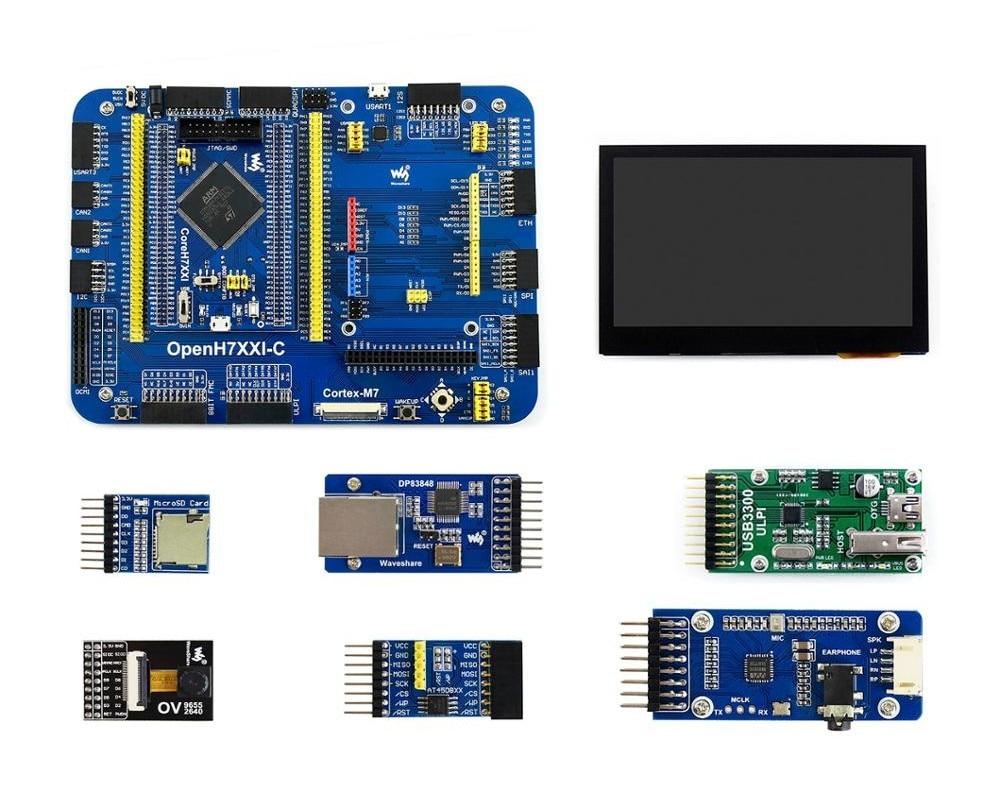 OpenH743I-C pacote a, placa de desenvolvimento stm32h7
