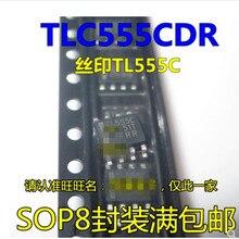 50 個 TLC555 TLC555CDR TL555C TL555I TLC555IDR SOP8 送料無料
