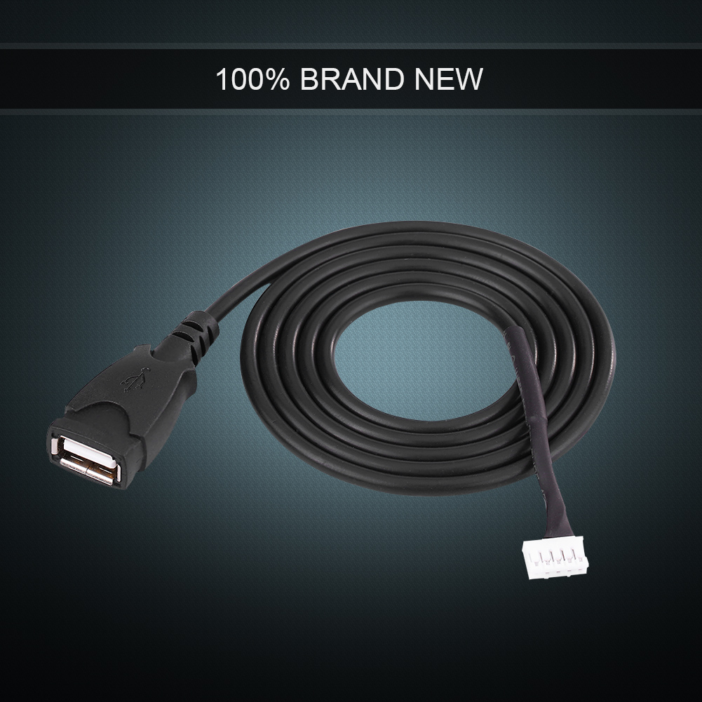 <font><b>Car</b></font> <font><b>Radio</b></font> Interface <font><b>USB</b></font> Adapter Cable With Removal Tools For <font><b>Peugeot</b></font> <font><b>307</b></font> 308 407 For Citroen C2 C3 C4 RD9 RD43 RD45 image