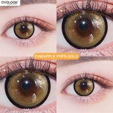 Ovolook 1 пара цветные контактные линзы Цветной для глаз взрыв