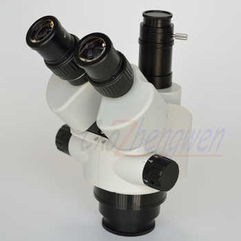 FYSCOPE 3.5X-180X Simul-Focal Trinocular Zoom Stereo Microscope Head Inspection Microscope