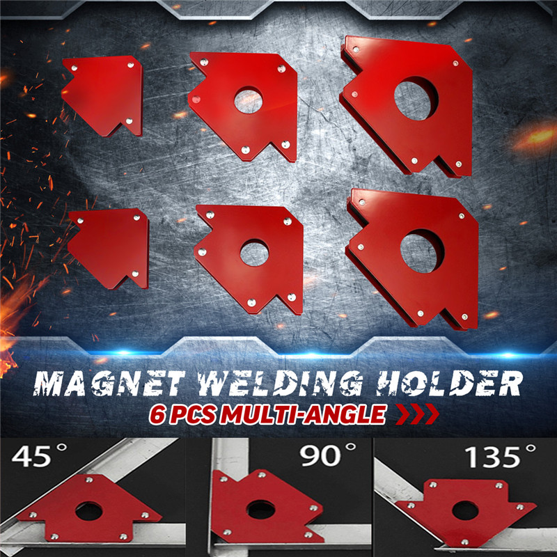 25lbs 25lbs Arrow 2x Multi 2x Magnet Angle 9lbs Holder Welding Clamp 6pcs Set 2x Magnetic Angle Magnet Mig For Tools Welding