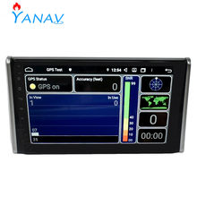2 Din Car radio dvd Android stereo receiver For Toyota RAV4 2019 2020 touch screen multimedia audio player Car GPS navigation(China)