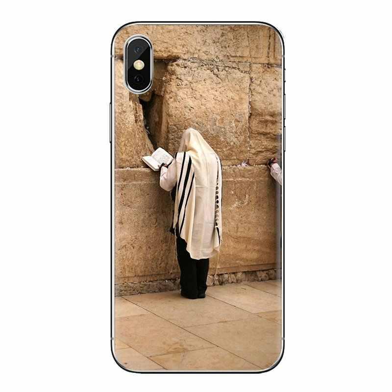 Khóc lóc Tường Jerusalem Israel Poster Dành Cho Samsung Galaxy Samsung Galaxy A3 A5 A7 A9 A8 Ngôi Sao A6 Plus 2018 2015 2016 2017 ốp Điện Thoại Da Ốp Lưng