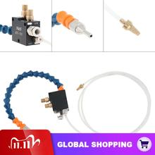 Mist Coolant Lubrication Spray System  Air Oil Control Button/8mm Air Connector/4mm Oil Pipe for Metal Cutting Engraving Cooling