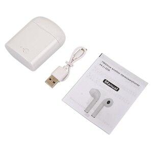 Image 5 - Mini i7s TWS Bluetooth Thật Không Dây Tai Nghe Stereo Không Dây Tai Nghe Nhét Tai Thể Thao Tai Nghe có Mic cho Xiaomi iPhone Điện Thoại