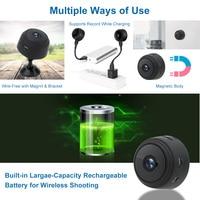 A9 1080P Wifi мини камера, Домашняя безопасность P2P камера WiFi, ночное видение беспроводная камера наблюдения камера, удаленный монитор телефон пр... 2