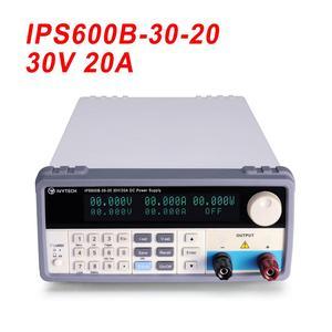 Image 2 - مختبر تحويل التيار الكهربائي تيار مستمر امدادات الطاقة برمجة تنظيم الجهد ضبط التيار 20 فولت 30 فولت 60 فولت 10A 20A 30A IPS600B