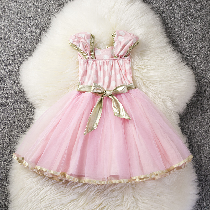 Hc8a8467cc507425abf3d709b17a80760s Lace Little Princess Dresses Summer Solid Sleeveless Tulle Tutu Dresses For Girls 2 3 4 5 6 Years Clothes Party Pageant Vestidos