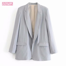 Rebecca Jacket With No Sleeves Caramel Wild Fashion Jacket With Strong Pink Long Sleeves For Women In Autumn 2019 cheap REGULAR Hip Hop DM673 NONE Blazers Polyester Button Solid Short BBWM WOMAN Calle mayor Ninguno Mujeres Blends of Cotton