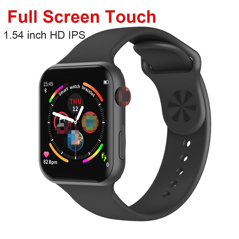 F10 Iwo 12 Pro Bluetooth Smartwatch Full Touch Screen Pk IWO 8 IWO 9 Heart Rate Monitor Smart Watches Men Women For IOS Android