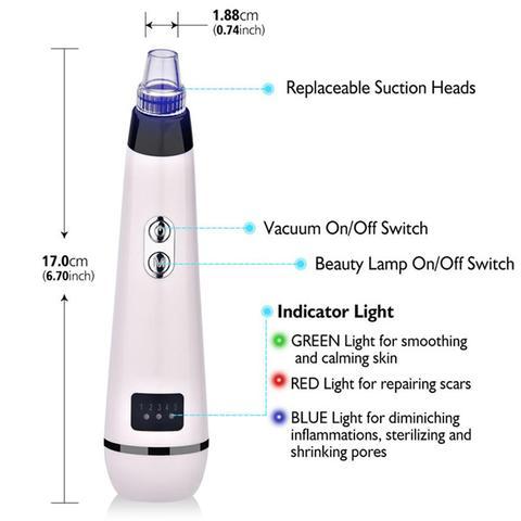 luz rejuvenescimento da pele cuidados com a pele ferramenta