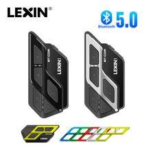 LEXIN-auriculares ET COM para casco de motocicleta, Intercomunicador con Bluetooth 1200, con batería de 5,0 mAh, para 2 conductores, 800M BT, 2 uds.